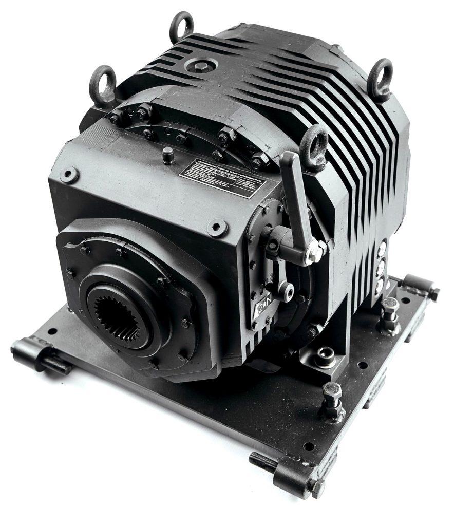 Автоматическая коробка передач для тяжелого электротранспорта