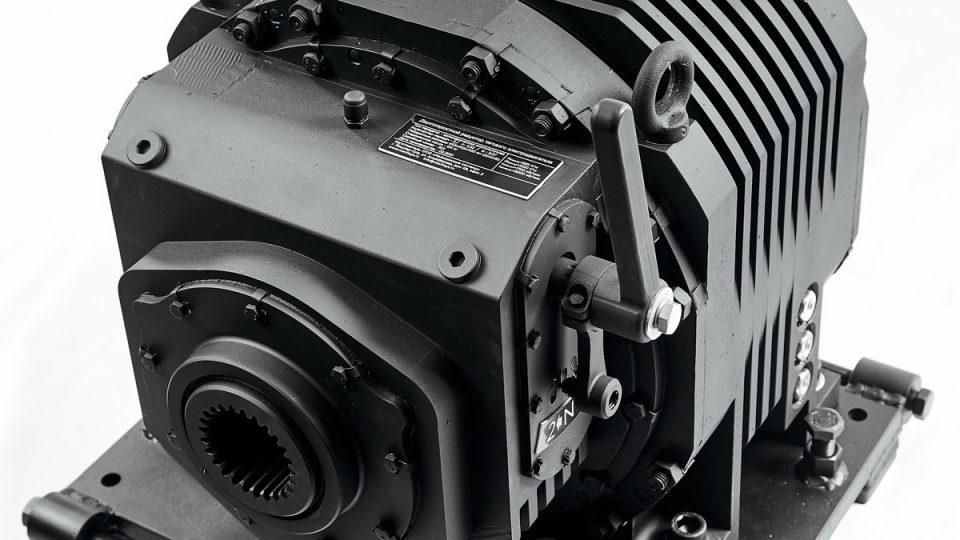 Роботизированная коробка передач для тяжелого электротранспорта